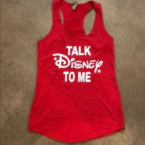 Talk Disney To Me Tank Top